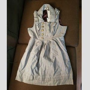 Tulle Tweed Ruffle Dress Size Large NWT
